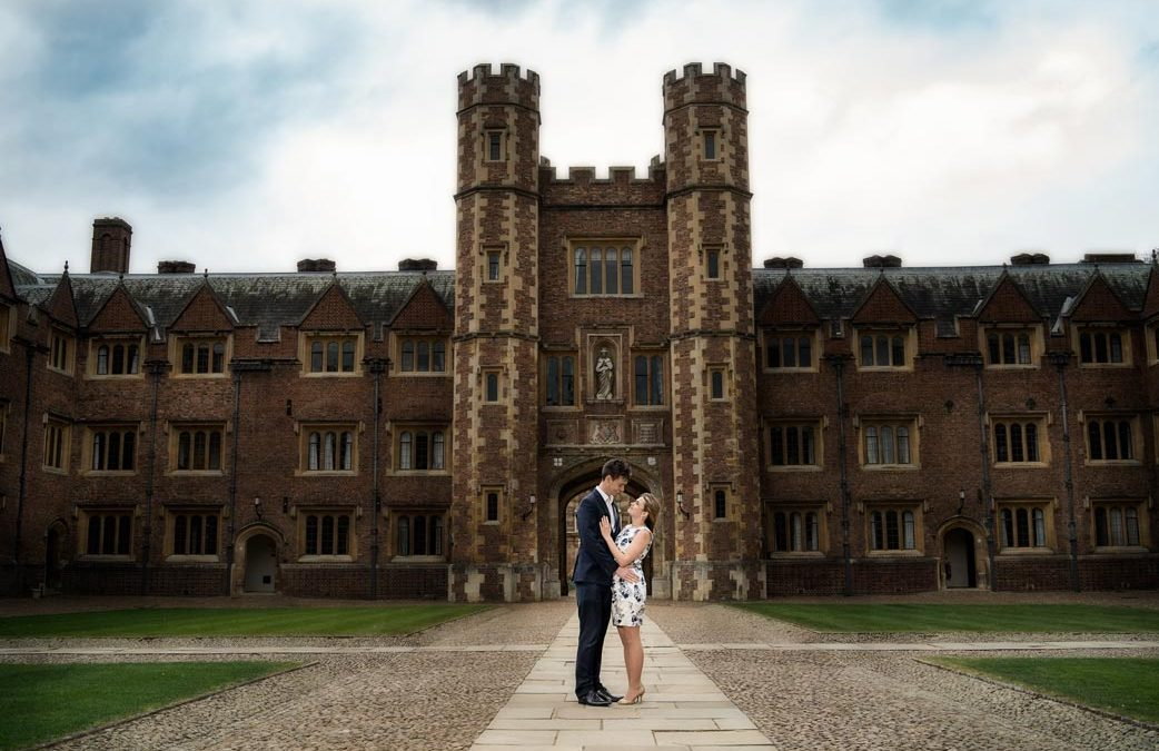 St John's College Engagement Shoot | Cambridge Wedding Photographer