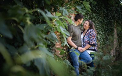 Apton Hall Engagement Shoot | Rachel and David
