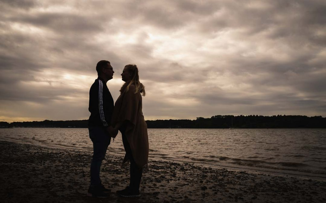 Nacton Shores Engagement Photography